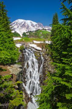 Waterfall at Rainier by Steve Hancock on 500px