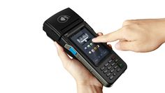 TGS POS payment design--ingenico new PDA POS P990-design
