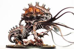 Warhammer 40k | Tyranids | Toxicrene conversion #warhammer #40k #40000 #wh40k #wh40000 #warhammer40k #gw #gamesworkshop #wellofeternity #miniatures #wargaming #hobby #tabletop