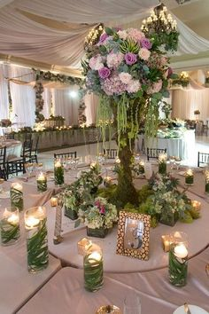 Wedding forest theme enchanted garden baby shower ideas for 2020 Secret Garden Theme, Secret Garden Parties, Prom Decor, Garden Wedding Decorations, Quince Decorations, Enchanted Forest Prom, Enchanted Garden Wedding, Enchanted Forest Centerpieces, Enchanted Wedding Themes