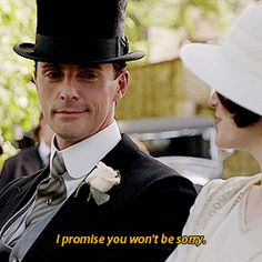 """Henry """"I promise you won't be sorry,"""" to which Mary replied, """"I'd better not be. Matthew Goode Downton Abbey, Matthew William Goode, Mathew Goode, Downton Abbey Season 6, Downton Abbey Fashion, Henry Talbot, Yorkshire, Dowager Countess, Masterpiece Theater"""