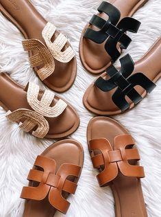 Chaussures Femme Sandales Plates Femmes Élégant Chaîne Dorée diapositives Summer Beach Flip Flop