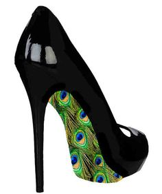 Peacock sole shoes