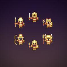 Quale: Pixel Art