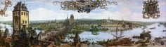 Frankfurt Am Main-Peter Becker-Frankfurts Vorstadt Sachsenhausen zu Anfang des 17 Jahrhunderts-1889 - Commons:Featured pictures/Historical - Wikimedia Commons