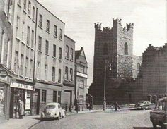 Cornmarket, Dublin, Ireland 1960's. Dublin Street, Dublin City, England Ireland, Dublin Ireland, Old Pictures, Old Photos, Photo Engraving, Iceland Travel, Historical Photos