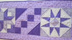 Traditional Quilted Table Runner for Spring or by SewItRosey