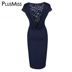 Best Value $19.81, Buy Hollow Out Lace Crochet Backless Pencil Women Dress Summer 2017 Sexy Open Back Bodycon Office Work Wear Midi Dress Ladies