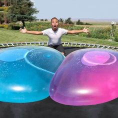Last Day Promotion--Buy Two Get One Free- Amazing Bubble Ball – childangers wie macht man Last Day Promotion--Buy Two Get One Free- Amazing Bubble Ball Giant Bubbles, Bubble Balloons, Water Balloons, Bubble Tent, Balloon Toys, Rainy Day Fun, Trampolines, Summer Parties, Winter Time