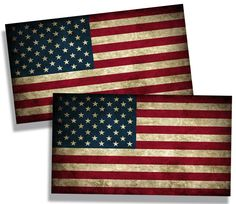 Rustic USA American State Vinyl Decal Die Cut Flag Sticker - Old Merica -- Awesome products selected by Anna Churchill