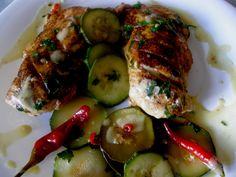 Codzienne gotowanie u Agi: Pierś z kurczaka duszona w cyrynie