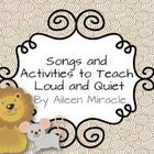 Need+fun+visuals+and+lessons+for+the+musical+opposites+loud+and+quiet?+This+product+includes:  *Songs+and+chants+to+teach+loud+and+quiet:+Lucy+Lock...