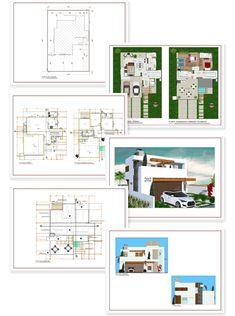 Planos de casa en terreno triangular triangular pinterest for Planos de casas 5x25