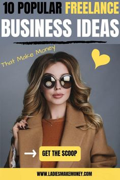 Career ideas for women: Here are a few freelance business ideas you can start at home as an Entrepreneur that is looking to make money. These work from home jobs can turn into successful careers. Make Money Today, Make Money Blogging, Make Money From Home, Way To Make Money, Make Money Online, Earning Money, Money Fast, Money Tips, Business Opportunities