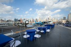 Whether it's partying on our park-like Pier 86 or dining under the wings of a record-setting Concorde, the Intrepid Museum is a great setting for staff appreciation events and summer associate outings.