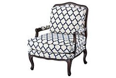 Admiral Chair - love the pattern