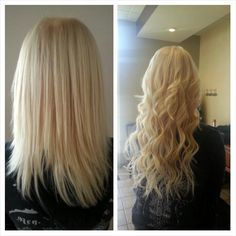 Tape in hair extensions by andrea