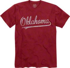 Oklahoma Sooners Cardinal '47 Brand Tip Off T-Shirt $34.99 http://www.fansedge.com/Oklahoma-Sooners-Cardinal-47-Brand-Tip-Off-T-Shirt-_-1820109451_PD.html?social=pinterest_pfid52-41826