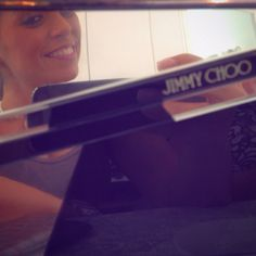 Mirror mirror! Bolsas @jimmychoo en el #FashionTalk donde presentamos  las colecciones  fall winter de @gvgranvia!
