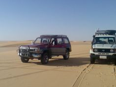 i am living in Egypt and i have one Toyota 70 diesel and another Nissan patrol in diesel also so please if someone is interested to share the middle east expedition in the Egyptian desert you are welcome , spatially we have the best well trained team work specialized in the western desert and Sinai peninsula . - See more at: http://blog.hemmings.com/index.php/2014/09/30/seven-continents-in-a-toyota-land-cruiser-70-series-greg-miller-reflects-on-expeditions-7/#sthash.vmQlVHqt.dpuf