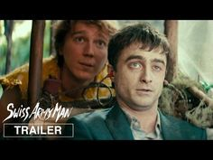 First Swiss Army Man trailer and poster brings together Paul Dano and Daniel Radcliffe, in what was the Sundance Film Festival Directing Award winner. Man Movies, Cinema Movies, Funny Movies, Good Movies, Funniest Movies, 2016 Movies, Paul Dano, Daniel Radcliffe, The Best Films