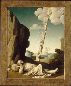 Songe de Jacob (Jacob's Dream). Nicolas Dipre, C15th (via Musée du Petit Palais, Avignon).jpg
