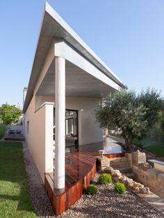 Idées pour une terrasse à l'Est ou à l'Ouest