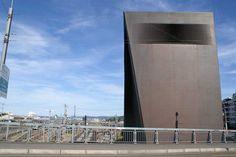 Basel Signal Box  #architecture #demeuron #herzog Pinned by www.modlar.com