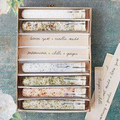 Make your own seasoned salt - Ideas: And of course you can use sea salt, or use potassium chloride instead of sodium chloride for some needing to avoid the sodium in their diet! This is a really cool gift idea also!!