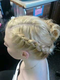 #Braid #hair #updo