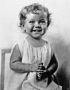 Shirley Temple before she got longer hair and her trademark curls