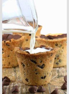 Cookie n milk shot glasses! Looks good!