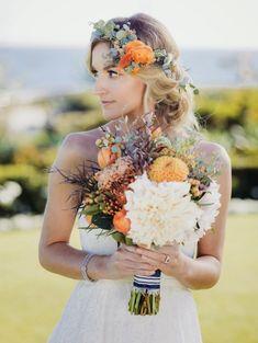 21 fall flower crown ideas