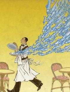 Illustration by Yuko Shimizu for article on Edible San Francisco