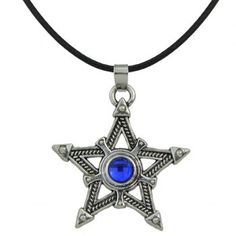 SHARE & Get it FREE | Faux Leather Rope Pentagram Rhinestone NecklaceFor Fashion Lovers only:80,000+ Items·FREE SHIPPING Join Dresslily: Get YOUR $50 NOW!