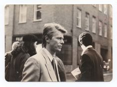 David walking around Soho, London in 1983