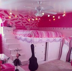 I Love This Set Up Check Out That Floor Mirror Pink Room