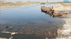 Once-massive Aral Sea Dries Up To Almost Nothing