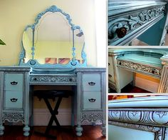 glazing furniture tutorial