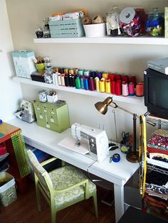 Rooms On Pinterest Sewing Rooms Craft Rooms And Fabric Storage