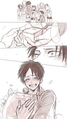 This is in dreaming cause I've dreamt about this moment and I'm sure Levi has too.