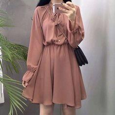 Korean fashion styles 711498441110111713 - Great korean fashion outfits Source by Kawaii Fashion, Cute Fashion, Look Fashion, Girl Fashion, Fashion Dresses, Fashion Design, Fashion Styles, Korean Fashion Trends, Korean Street Fashion