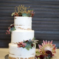 Love having aussie native flowers on cakes. This semi naked cake dressed by for the just stunning. Seminaked Wedding Cake, Red Velvet Wedding Cake, Beautiful Wedding Cakes, Wedding Desserts, Wedding Cupcakes, Wedding Decorations, Engagement Cakes, Dress Cake, Corsage Wedding