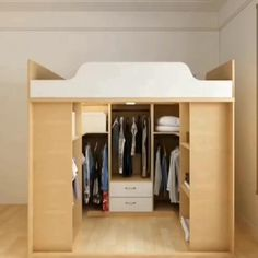 Home Discover Diy Furniture Small Spaces Extra Storage - New ideas Bedroom Closet Design Home Room Design Home Room Design, Room Design, Bedroom Closet Design, Kitchen Furniture Design, Home Interior Design, House Interior Decor, Furniture Design, Closet Design, Home Decor Furniture