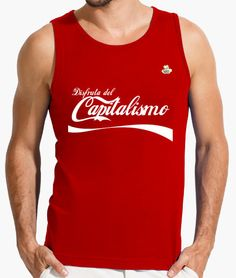 Camiseta Capitalismo Camiseta hombre sin mangas  19,90 € - ¡Envío gratis a…
