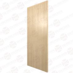 Plain Sliced White Oak Solid Core Wood Doors