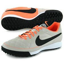 NIKE Tiempo Genio TF Men's Turf Leather Soccer Shoes Style 631284-008 | http://www.cbuystore.com/page/viewProduct/ | United States