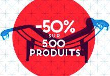 -50% sur tout le mobilier d'exposition