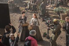 """#Outlander Season 1x10 """"By the pricking of my thumbs"""" Production Still"""