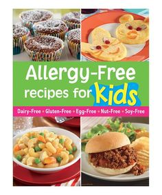 At last there's a collection of fun recipes for kids who have allergies! From breakfast to party cakes, there are delicious dishes for every occasion. Each recipe is marked with icons to show at a glance which of six common allergens it's free from; dairy, eggs, gluten, peanuts, tree nuts and/or soy. The allergens are gone, but the fun is back!